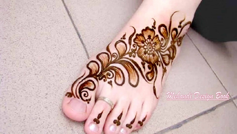 Mehndi For Legs Simple : Cute simple mehndi designs for festivals and occasion